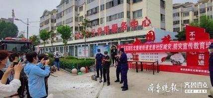 北集坡街道龙泉社区开展减灾防灾宣传教育培训活动