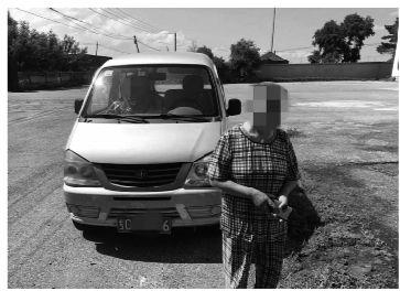 62歲大媽無證駕車遭罰款2000