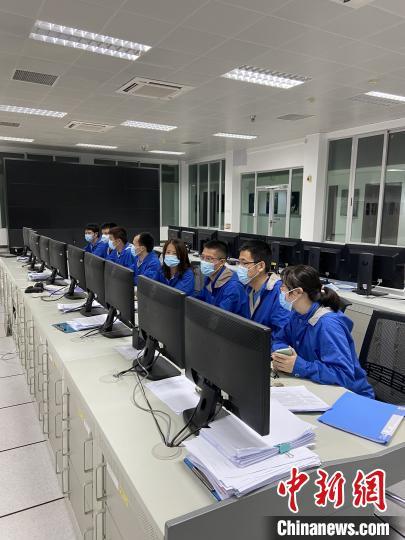中国遥感卫星地面站三亚站工作现场。(中科院空天院 供图)