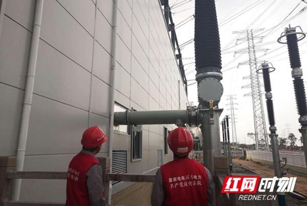 """湖南电力建设公司""""党员突击队""""破解工程疑难点"""