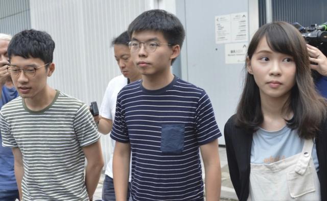 赢咖3平台,款走人港独赢咖3平台组织香港众志解图片