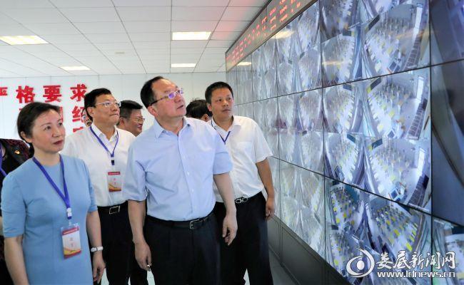 省巡视督查组来娄检查高考备考工作 杨懿文主持调度会