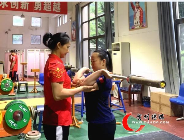 贺州籍举重女将蒋惠花入选国家队集训
