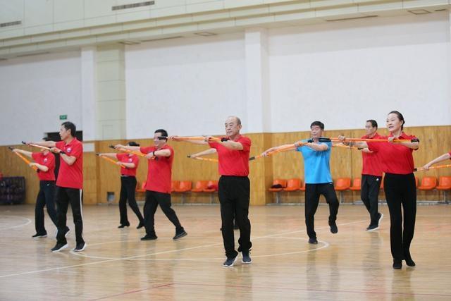济宁参加全国老年人持杖健走网络短视频交流活动