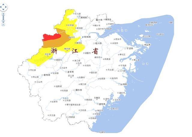 杭州部分地区地质灾害气象红色预警 为浙江今年首次