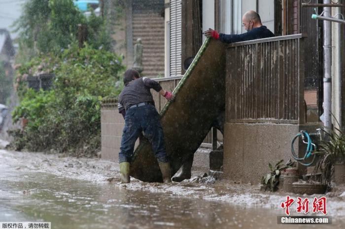 日本熊本县暴雨已致22人死亡 伤亡人数或继续上升