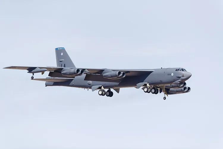 B-52H轰炸机(资料图)