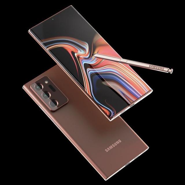 三星Galaxy Note 20 Ultra高清渲染图曝光