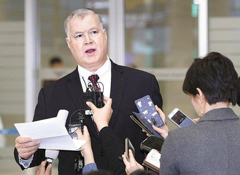 韩国外交部:美国务院朝鲜政策特别代表明起访问韩国