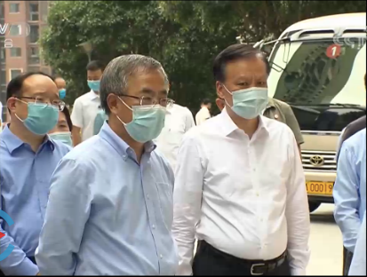 为了政治局会议部署的这项重任,胡春华南下重庆图片