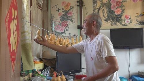 烟台莱州:葫芦爷爷和他的葫芦娃们