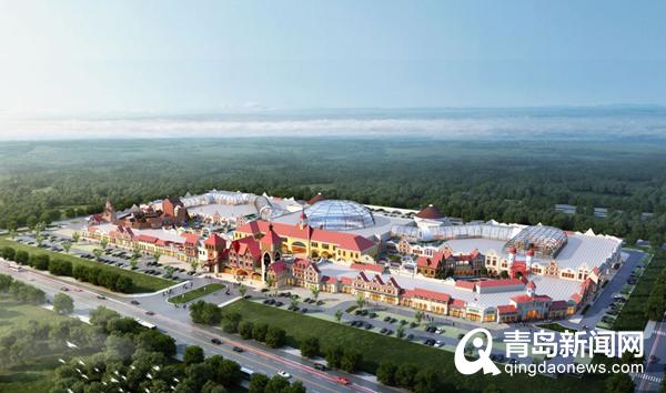 高新区首创奥特莱斯封顶 预计2021年开门营业