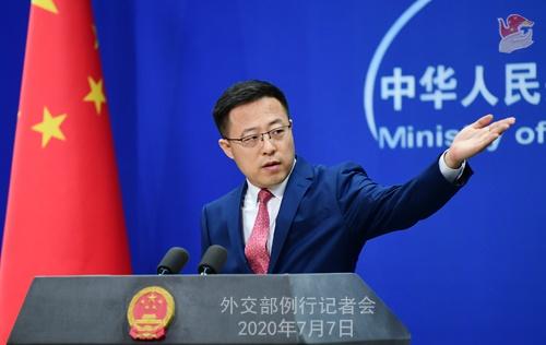 脸书、推特等社交网络公司称不会向香港提供用户数据,赵立坚回应
