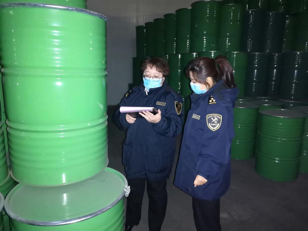 上半年甘肃省浓缩苹果汁出口呈增长态势