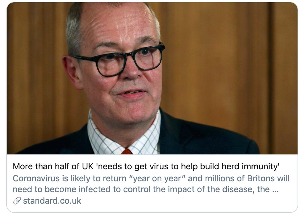 """新冠肺炎疫情肆虐半年,英国人提出的""""群体免疫""""实现了吗?"""