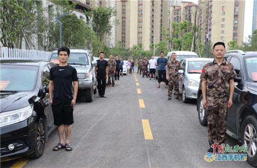 东乡退役军人就业创业协会为高考考生免费提供车辆接送服务(图)