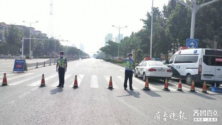 菏泽牡丹区:43个执行岗位,160名交警辅警护航高考