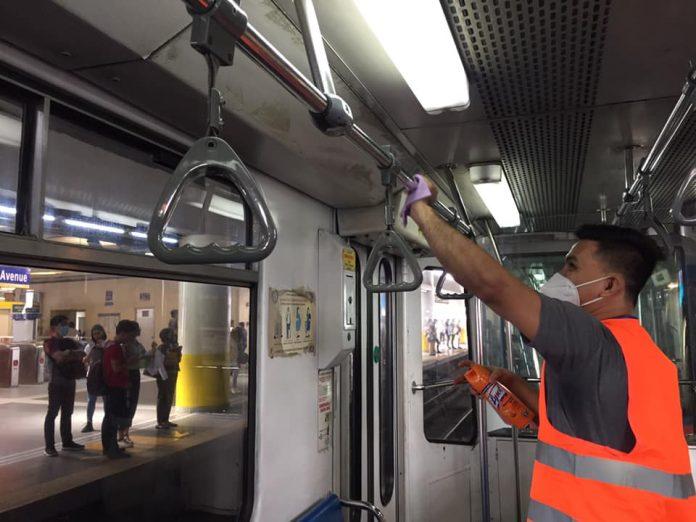 菲律宾马尼拉轻轨3号线暂停运营 员工感染新冠肺炎人数飙升