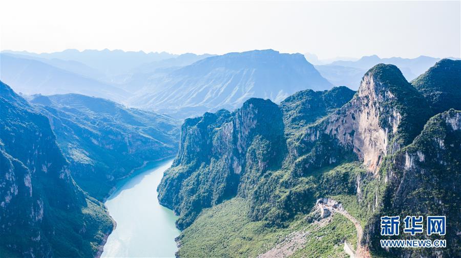 贵州六枝:爨河风景如画