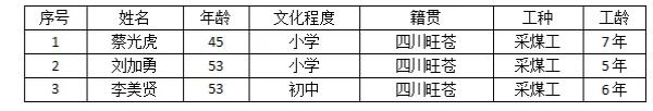 「杏悦」旺苍致3死煤矿瓦斯爆炸事故杏悦调查报图片