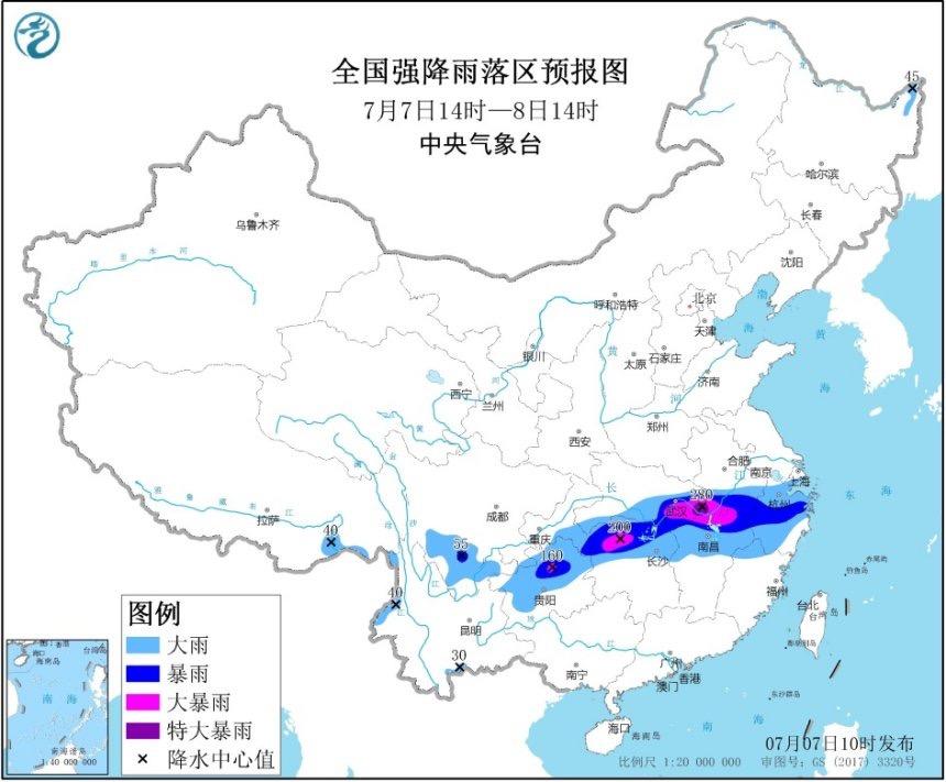 入汛以来,安徽黄山等局地累计降雨量突破1200毫米图片