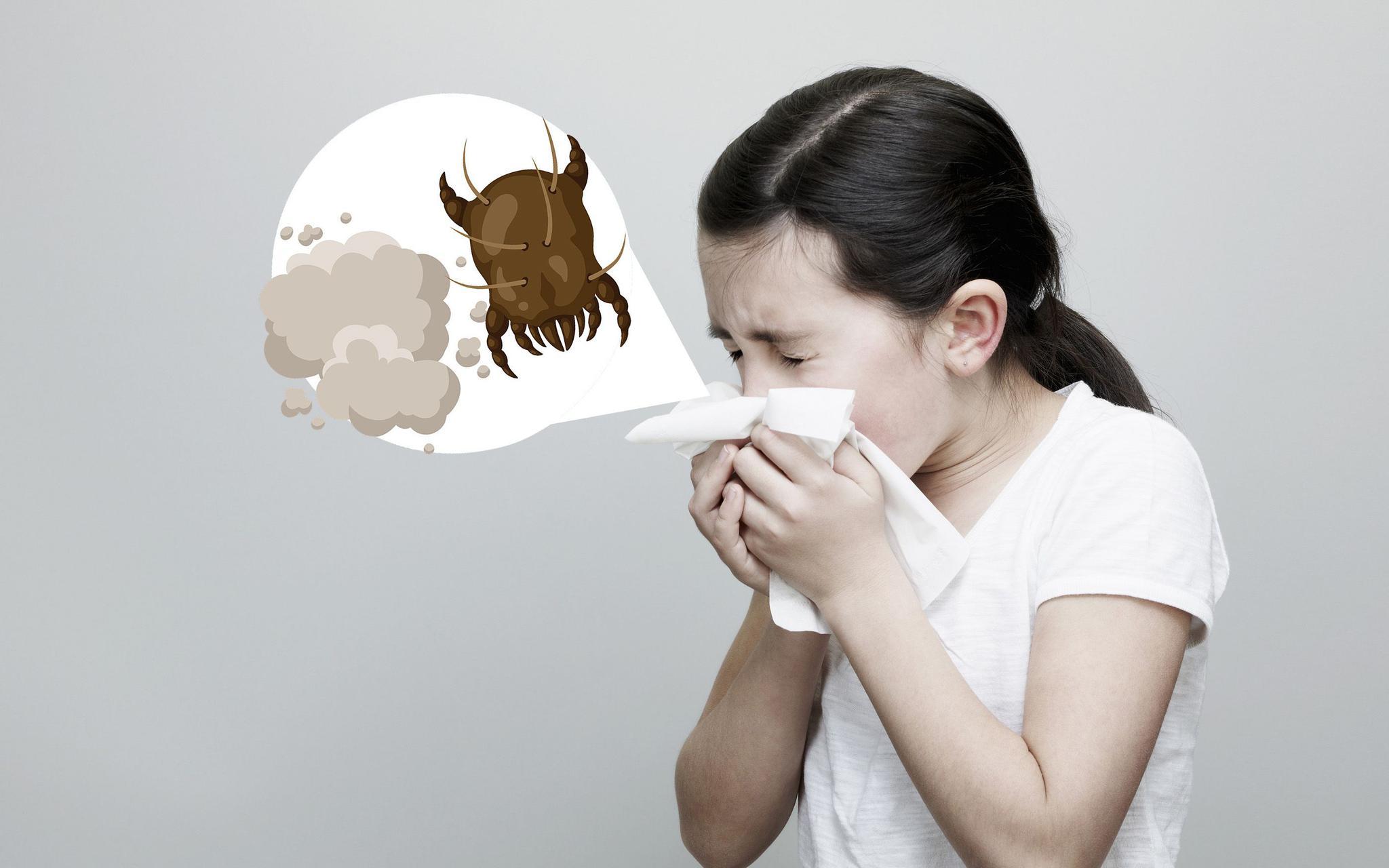 【天富】世界过敏日丨尘天富螨花粉过敏性哮喘图片