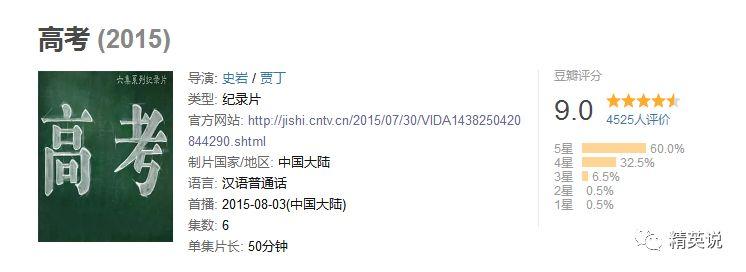 央视9.0分纪录片,亿万中国人亲身出演,直击高考最真实的一面