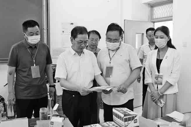 汉中市政协巡查高考备考工作