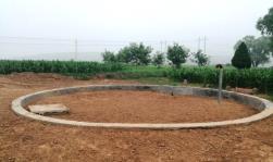 新建的石圪垤村200立方高位水池(石圪垤村供图)