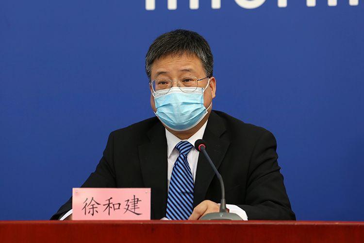 北京市委宣传部副部长、市政府新闻办主任、市政府新闻发言人徐和建