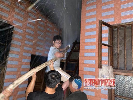 救民于水火 新宁县马头桥镇专职消防队再行动