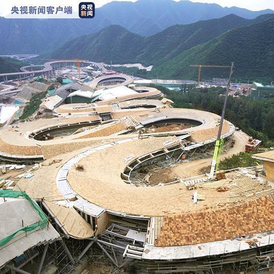 北京冬奥会延庆赛区年底将全面完工 主要承担高山滑雪和雪车雪橇项目比赛