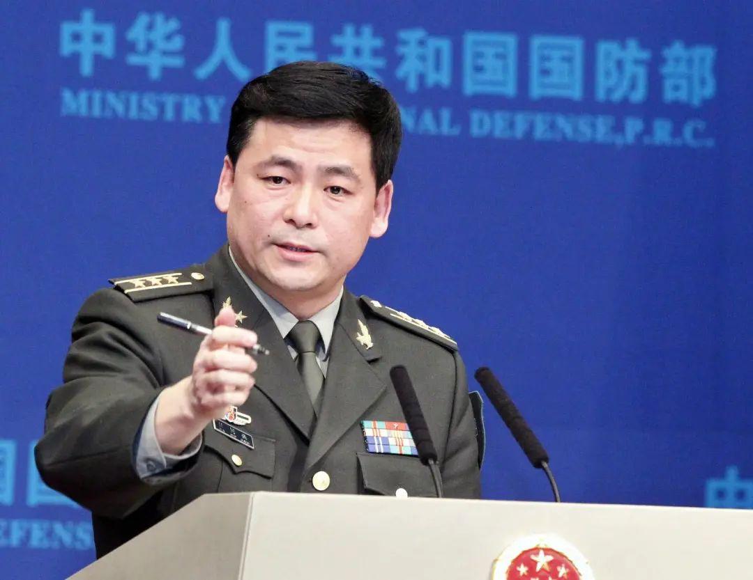 「蓝冠」刚刚中国国防部回怼美国国蓝冠防部图片