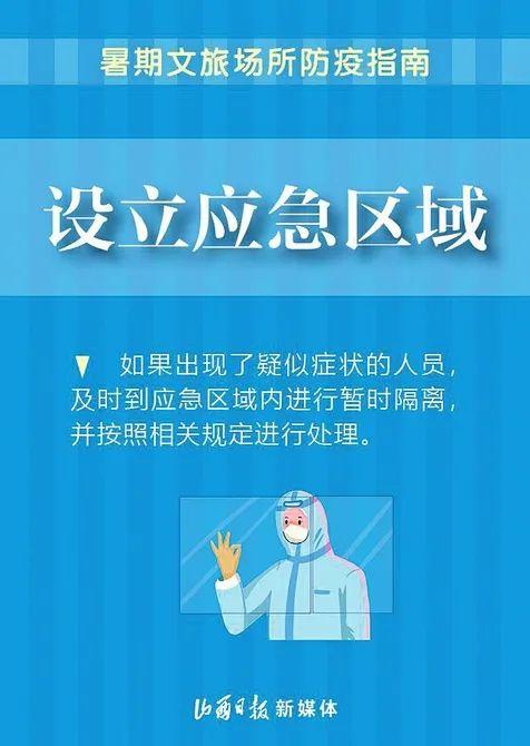 蓝冠,暑期文旅场所防疫指南来蓝冠了图片