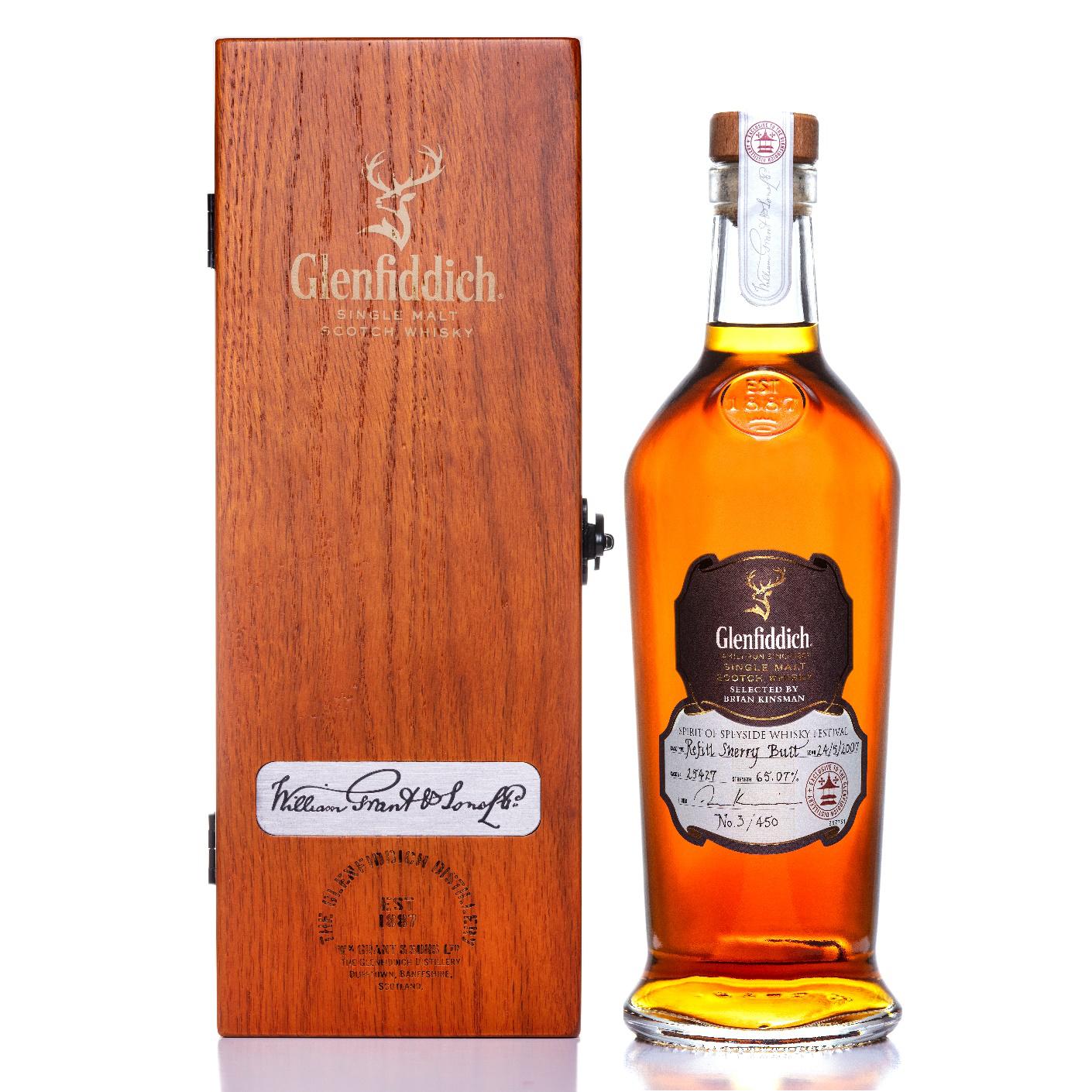 格兰菲迪携手Whisky Auctioneer举办拍卖会, 筹得24万英镑善款