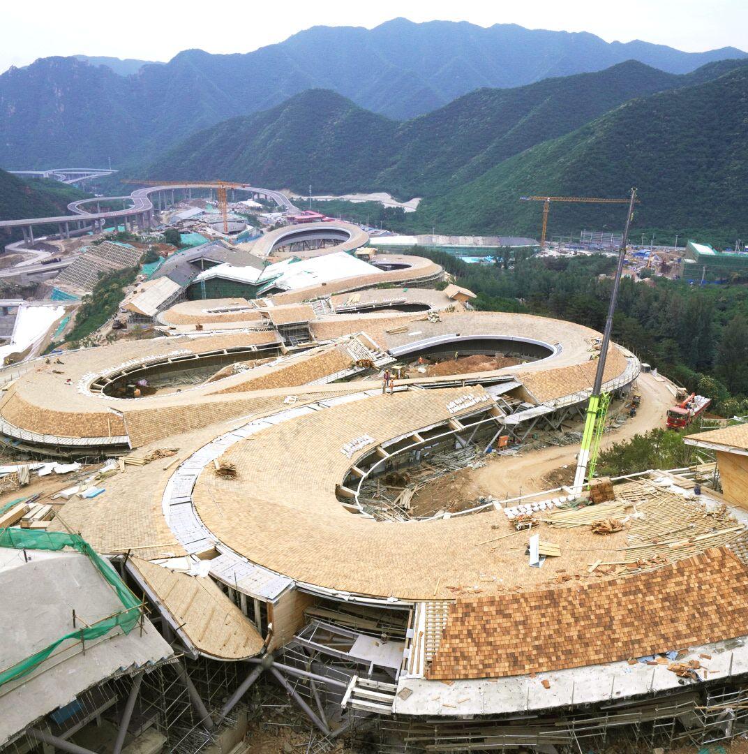 京自然科學冬奧會延慶賽區年底將全面完,自然科學圖片