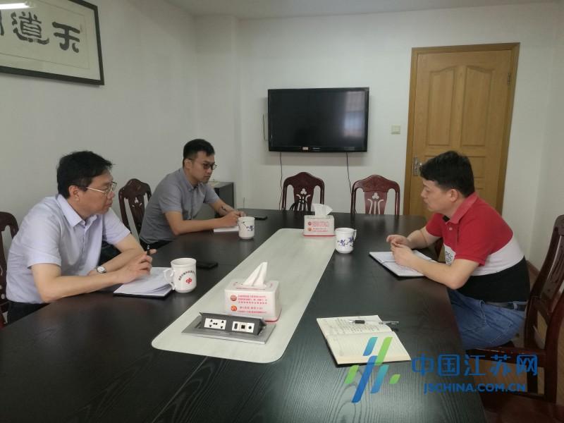 南通市民政局局长汤雄到市福彩中心调研指导工作