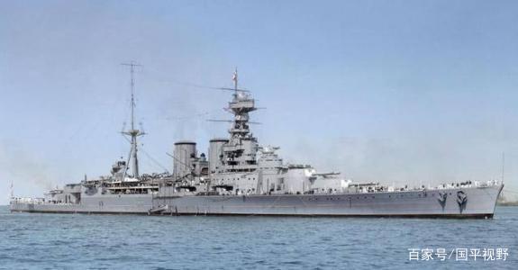 胡德号战巡:被战列舰炮火击中沉没,甲板装甲难挡500磅航弹攻击