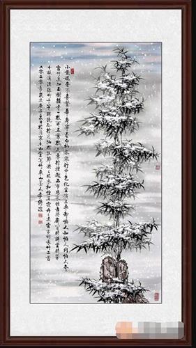 书画杂谈:李传波国画竹子作品选