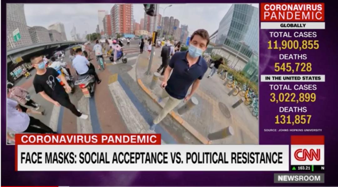 赢咖3娱乐app看到这一幕CNN记者图片