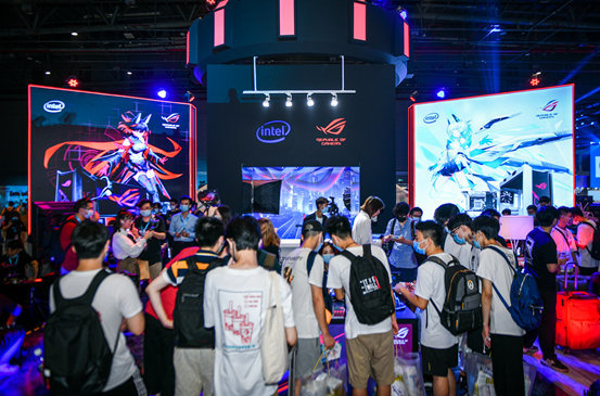 BW 2020狂欢嘉年华,华硕电竞显示器重磅登场高能无限