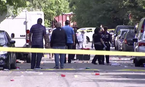 美国华盛顿深夜派对发生枪击案 至少3名枪手行凶致1死20伤