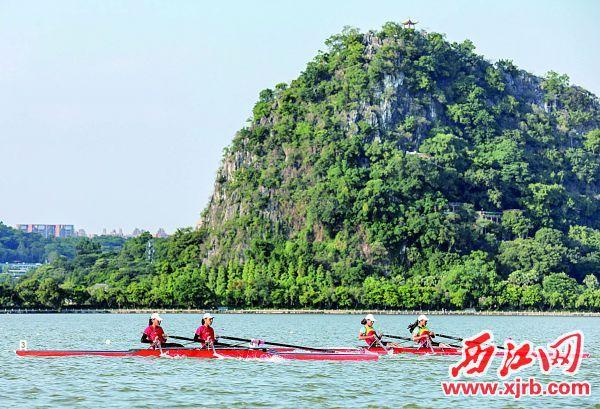 全省青少年赛艇锦标赛星湖开桨 肇庆队首日豪夺5项冠军