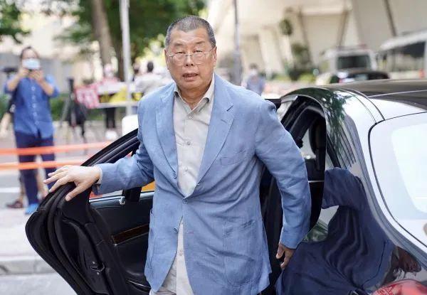 ▲资料图片:5月5日,黎智英抵达西九龙裁判法院。(新华社)