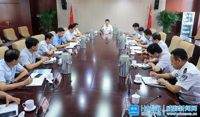 张海波主持召开市区交通拥堵治理专题会议
