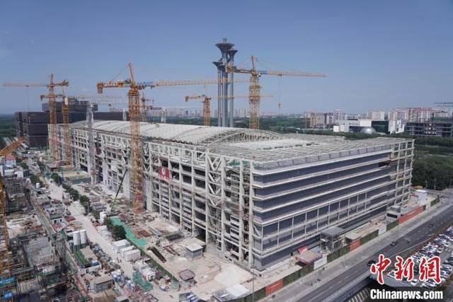 国家会议中心二期配套项目进入地上施工阶段