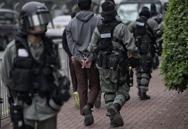 切勿以身试法!香港警方发布拘捕检控最新数据