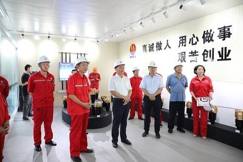 东营市河口区委书记赵书刚带队调研科技创新工作