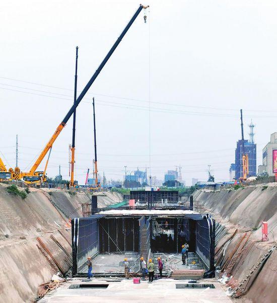 公主岭地下综合管廊PPP项目管廊主体完成99.2%