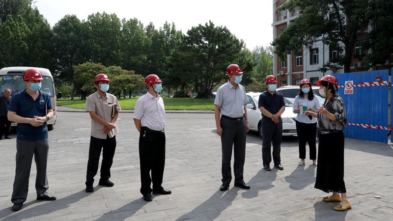 北京农学院领导开展校园安全生产专项检查并慰问暑期在岗教职工